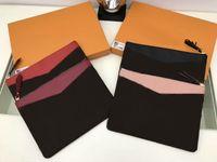 새로운 스타일 브랜드 남성용 파우치 가방 핸드백 Pochette 항해 지갑 가죽 지갑 클러치 M62942 가방 GC # 118