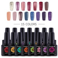 80 Colors 10ml Coscelia Gel Nail Polish Semi Permanant Uv Po...