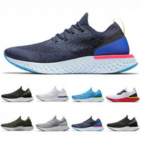 Epic React Fly Running Shoes For Men Women Knitting Breathab...