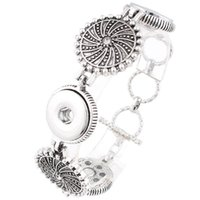 JaynaLee Fashion 3 Buttons Ginger Snaps Button Bracelets Jew...