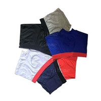Männer Unterwäsche Boxer atmungsaktiv männliche Höschen Baumwolle 2020 Mann Boxer Feste Unterhose Berühmte Komfortable Boxer Shorts