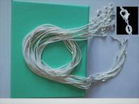 10 pezzi / lotto Promozione! Collana in argento 925 all'ingrosso da 1mm, catene in argento sterling alla moda e belle gioielli in argento sterling 925
