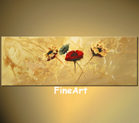 hand painted huge abstract art sale floral art paintings mod...