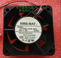 NMB 2410ML-05W-B39 6025 24V 60*60*25 3 линия функция сигнала тревоги обнаружения пояса вентилятора