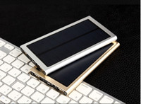 울트라 얇은 태양 광 발전 은행 10000MA 좋은 찾고 패션 스타일 높은 품질의 OEM 및 ODM 서비스 공장