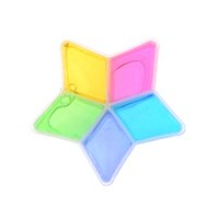 5 Pcs Kids Baby Fun Toys Crystal Fruit Magnetic Colored Clay...