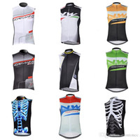 NW team Cycling Sleeveless jersey vest summer cycling clothi...
