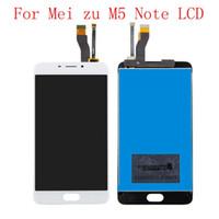 5.5 Pouces Qualité LCD Pour MEIZU M5 Note M621H M621Q M621M Écran LCD + Numériseur Écran Tactile Pour MEIZU M5 Note