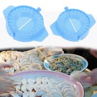 1Ps Dumpling Chinese Jiaozi Maker Molds Dough Press DIY Dump...
