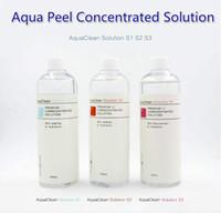 Solução limpa do Aqua / solução concentrada Peel do Aqua 400ml pela garrafa Soro facial da Hydra do soro facial da garrafa para a pele normal Transporte de DHL