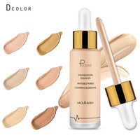 Pudaier Liquid Foundation Base Matte Liquid Makeup Concealer...