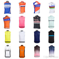 RABOBANK RAPHA team Cycling Sleeveless jersey Vest mans Fashion Mountain  bike Clothes new Bicycle Sportswear Ropa Ciclismo C2306 4cb9c555a