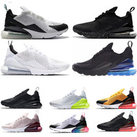 online retailer f1d97 02b88 Nike air max 270 scarpe da corsa da uomo BE TRUE Bianco Volt triplo punto  nero