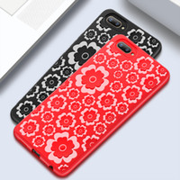 Flower Pattern Case For Samsung S8 S9 Plus Cover Soft Silico...
