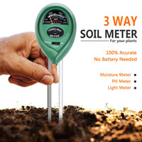 3 In 1 Ph Tester Soil Water Moisture Light Test Meter Kit Ga...