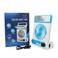 1 휴대용 미니 태양 광 팬에 4 태양 에너지 Min 전기 팬 30 손전등 Rechargable 램프 도매업