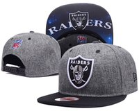 Hot selling Black Adjustable Embroidery Oakland Raider Snapb...