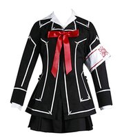 Vampire Knight Kuran Yuki Cosplay Damen Party Halloween Schwarz Uniform