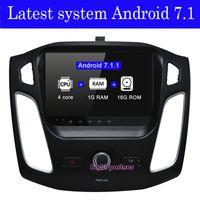 سعر المصنع أحدث الروبوت 7.1.2 سيارة دي في دي لاعب نظام الملاحة GPS لفورد فوكس 3 2012 2013 2014 مع BT Wifi GPS