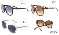 0275 Ослепительные очки мода новая классическая мода унисекс мужская нефтяная установка женщин солнцезащитные очки ретро стильный дизайнер винтаж
