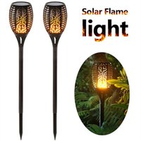 Solar Garden Lights Waterproof Outdoor Solar Torch Light Sol...