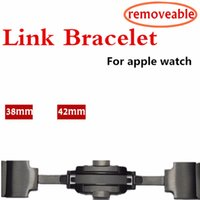 Link Bracelet Removeable Band Stainless Steel for Apple Watc...