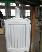 1만w / 10kw 200RPM 저속 sychrous 영구 자석 발전기 발전기 수력 발전기, 48V / 96V ~ 220V ~ 380V 허용 커스터마이즈