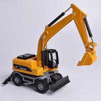 1:50 Aleación Excavadora Camión Vehículos de Coche Modelo Diecast Para Niños Juguetes de Sueño Regalo Kid Toy