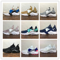 2018 Nuevo Hot Huarache City Low Ultra Running Shoes Magic Sticker Changed Hombres Mujeres Al Aire Libre Huaraches Sneakers TALLA 36-44