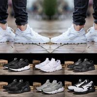 New 2018 Huarache I Running Shoes 남성 여성 클래식 그레이 트리플 블랙 화이트 Huraches 트레이너 스포츠 슈즈 러너 운동화 Sneaker Eur 36-45