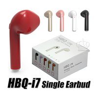 Single Earphone HBQ i7 Wireless Sport Headset Connect With T...