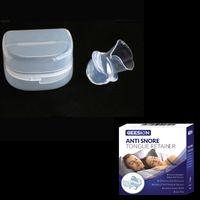 Silikon Anti Schnarchen Zunge Pflege Gerät Snore Solution Schlaf Atmung  Apnea Night Guard Hilfe Stop Snore Sleeve