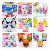 1PCS Squishy Animal Unicorn Jumbo Mini Cartoon Slow Rebound ...