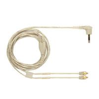 Shure SE215 için OKCSC Beyaz Kulaklık MMCX Kablo SE535 SE846 Kulaklık Yedek Kablo Ayrılabilir Kulakiçi Tel Ses Adaptörü