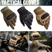 Full Finger Tactical Gloves Military Training Paintball Army...