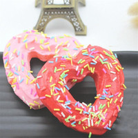 2018 New 1 Piece Donut Squishy Slow Rising Squeeze Phone Str...
