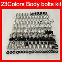 Kit completo de tornillos de carenado para YAMAHA FJR1300 01 02 03 04 05 2005 FJR 1300 2001 2002 2003 2004 2005 Tuercas de cuerpo tornillos kit de tornillo de tuerca 25 colores