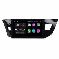 2 GB de RAM Android 7.1 Quad Core Radio DVD para coche Reproductor multimedia DVD para Toyota Levin 2013 2014 2015 con Bluetooth WIFI Espejo enlace
