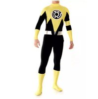 Lanterne Sinestro Corps Custom Made lanterne jaune adulte costume de super héros Halloween Costume Cosplay
