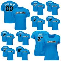 Американская лига 2017 All-Star Game мужской женский дети Carlos Correa Крис продажа Аарон судья 12 имя игрока Gary Sanchez ose Altuve футболки