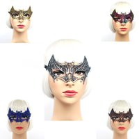 Wholesale Lady Sexy Lace Masks Venetian Carnival Mask for Ha...