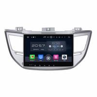 """4 جيجابايت من ذاكرة الوصول العشوائي الثماني النواة 10.1 """"أندرويد 6.0 سيارة أغنية دي في دي بلاير سيارة دي في دي لشركة هيونداي IX35 توكسون 2015 2016 مع راديو GPS WIFI Bluetooth TV USB"""