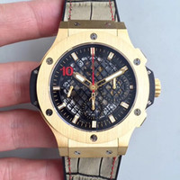 44mm 4100 movement automatic chronograph chrono working men ...