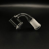2mm Wall 4mm Thickness Bottom Flat Top Quartz Banger 25mm OD...