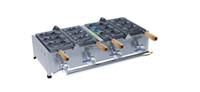 Ücretsiz kargo Gaz tipi 6 adet taiyaki makinesi balık üreticisi