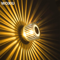 woxiu Sun flower sunflower wall lamp modern simple colorful ...