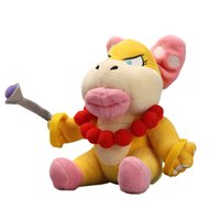 Hot Sale 17cm Super Mario Bros Koopaling Wendy Koopa Plush S...