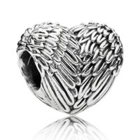 10PCS Alloy Wing Beads Charms For Pandora DIY Jewelry Europe...