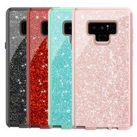 For Samsung Note 9 Case Luxury Glitte Bling Heavy Duty Hybri...