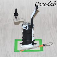 Mini silicone olio dab rigs cera tampone strumento silicone tamponare tampone tampone termico Banger Nail vetro Bubble Cap Carb P Banger quarzo Banger Chiodi